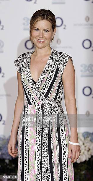Singer Dido arrives at the NordoffRobbins Silver Clef Awards at the Hotel InterContinental on June 17 2005 in London England The 30th anniversary of...