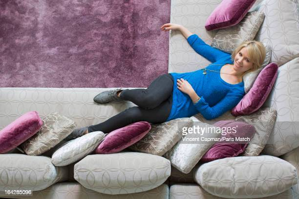Singer Dido is photographed for Paris Match on March 15 2013 in Paris France