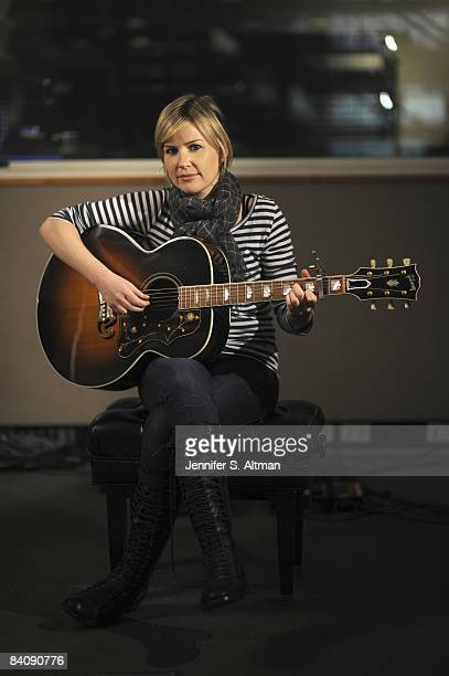Singer Dido is photographed in New York at the Sirius Satellite Radio Station for the Los Angeles Times