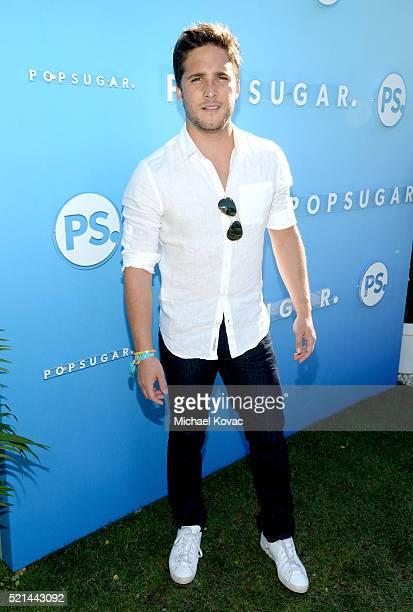Singer Diego Boneta attends Emily Ratajkowski hosts Sunset Kickoff at the POPSUGAR Cabana Club on April 15 2016 in Palm Springs California
