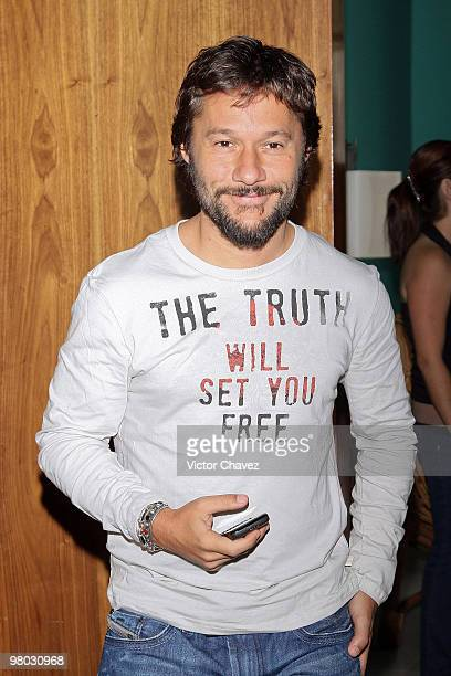 Singer Diego Torres is seen at Hotel Condesa DF on March 24 2010 in Mexico City Mexico