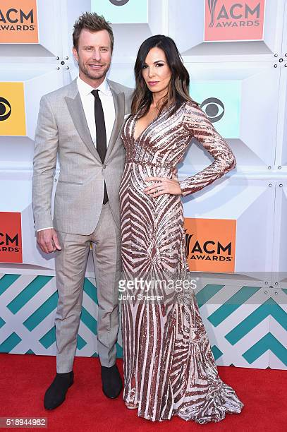 Singer Dierks Bentley and Cassidy Black attend the 51st Academy of Country Music Awards at MGM Grand Garden Arena on April 3 2016 in Las Vegas Nevada