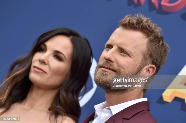 Singer Dierks Bentley and Cassidy Black attend the 53rd Academy of Country Music Awards at MGM Grand Garden Arena on April 15 2018 in Las Vegas Nevada