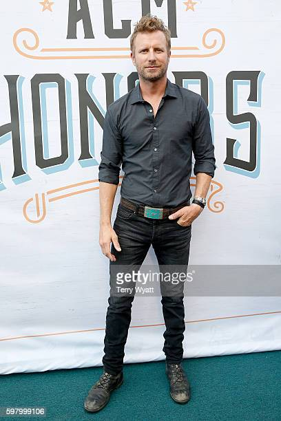 Singer Dierks Bentley attends the 10th Annual ACM Honors at the Ryman Auditorium on August 30 2016 in Nashville Tennessee
