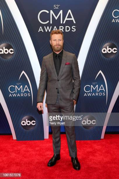 Singer Dierks Bentley attends the 52nd annual CMA Awards at the Bridgestone Arena on November 14 2018 in Nashville Tennessee