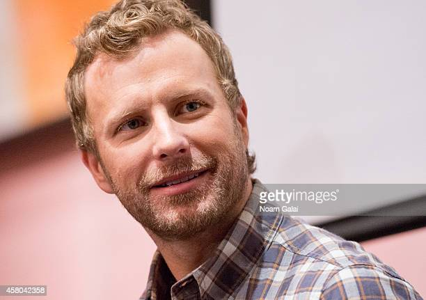 Singer Dierks Bentley attends the Live Nation And Founder's Entertainment Press Conference With Dierks Bentley at Rose Bar at Gramercy Park Hotel on...