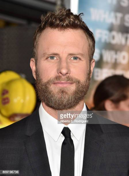 Singer Dierks Bentley attends the premiere of Columbia Pictures' 'Only The Brave' at the Regency Village Theatre on October 8 2017 in Westwood...