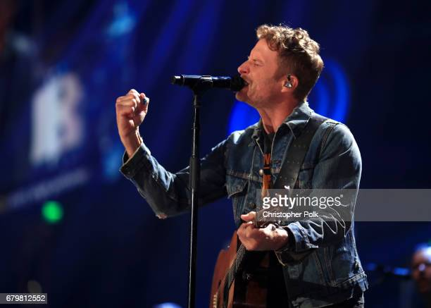 Singer Dierks Bentley performs onstage during the 2017 iHeartCountry Festival A Music Experience by ATT at The Frank Erwin Center on May 6 2017 in...