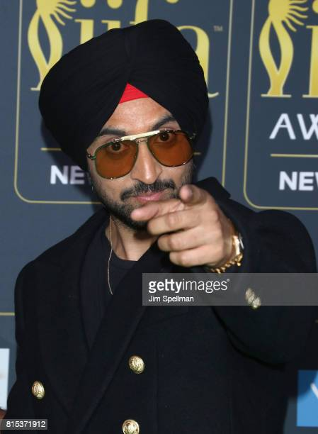 Singer Diljit Dosanjh attends the 2017 International Indian Film Academy Festival at MetLife Stadium on July 14 2017 in East Rutherford New Jersey