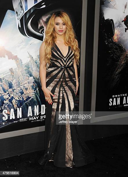 Singer Dinah Jane Hansen arrives at the 'San Andreas' Los Angeles Premiere at TCL Chinese Theatre IMAX on May 26 2015 in Hollywood California