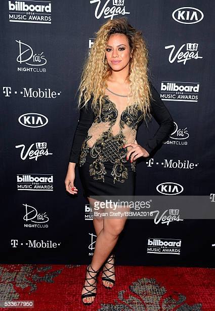 Singer DinahJane Hansen of Fifth Harmony arrives at the official Billboard Music Awards after party at Drai's Beach Club Nightclub at The Cromwell...