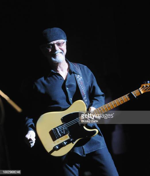Singer Dion Dimucci and musician Arno Hecht perform at St George Theatre on July 20 2018 in the Staten Island borough of New York City