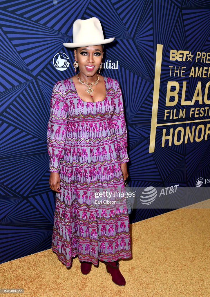 Singer Dionne Farris attends BET Presents the American Black Film Festival Honors on February 17, 2017 in Beverly Hills, California.