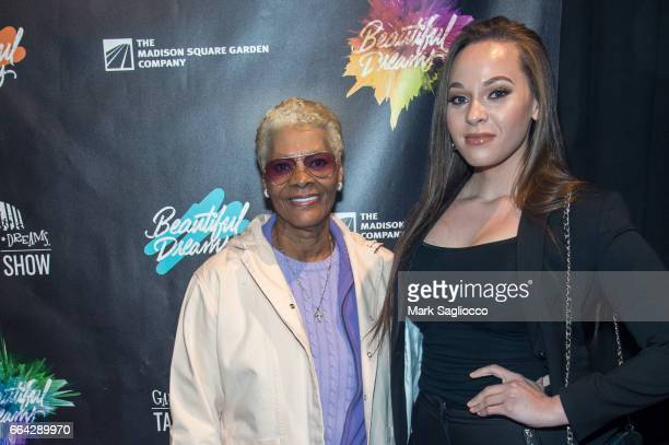 Singer Dionne Warwick and Cheyenne Elliott attend the 2017 Garden Of Dreams Talent Show at Radio City Music Hall on April 3 2017 in New York City