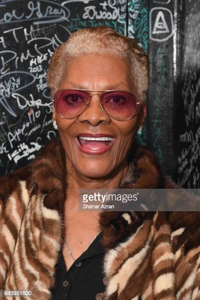 Singer Dionne Warwick at Amateur Night Opening Night at The Apollo Theater on February 22 2017 in New York City