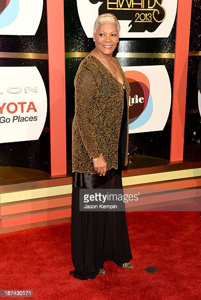 Singer Dionne Warwick attend the Soul Train Awards 2013 at the Orleans Arena on November 8 2013 in Las Vegas Nevada