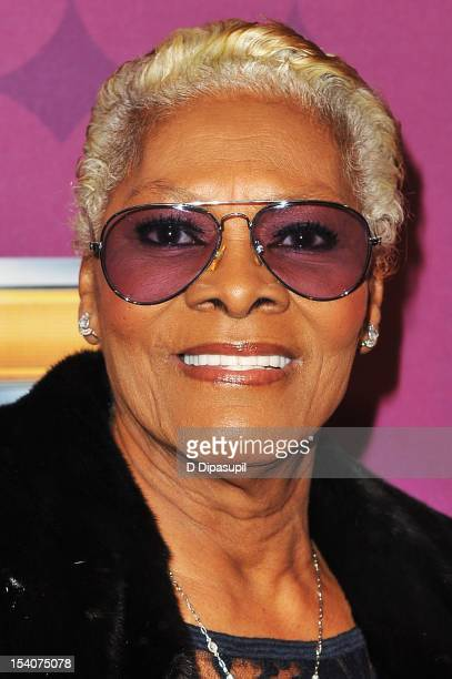 Singer Dionne Warwick attends BET's Black Girls Rock 2012 CHEVY Red Carpet at Paradise Theater on October 13 2012 in New York City