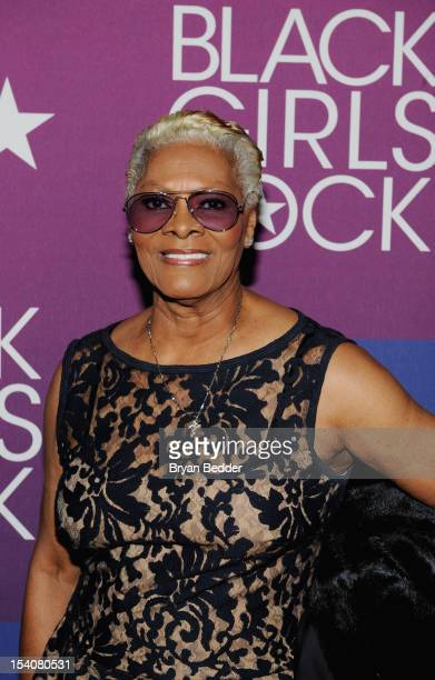 Singer Dionne Warwick attends BET's Black Girls Rock 2012 CREST Style And Smile Booth at Paradise Theater on October 13 2012 in New York City