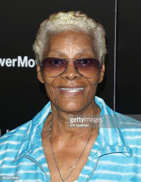 Singer Dionne Warwick attends 'The Dark Tower' New York premiere at Museum of Modern Art on July 31 2017 in New York City