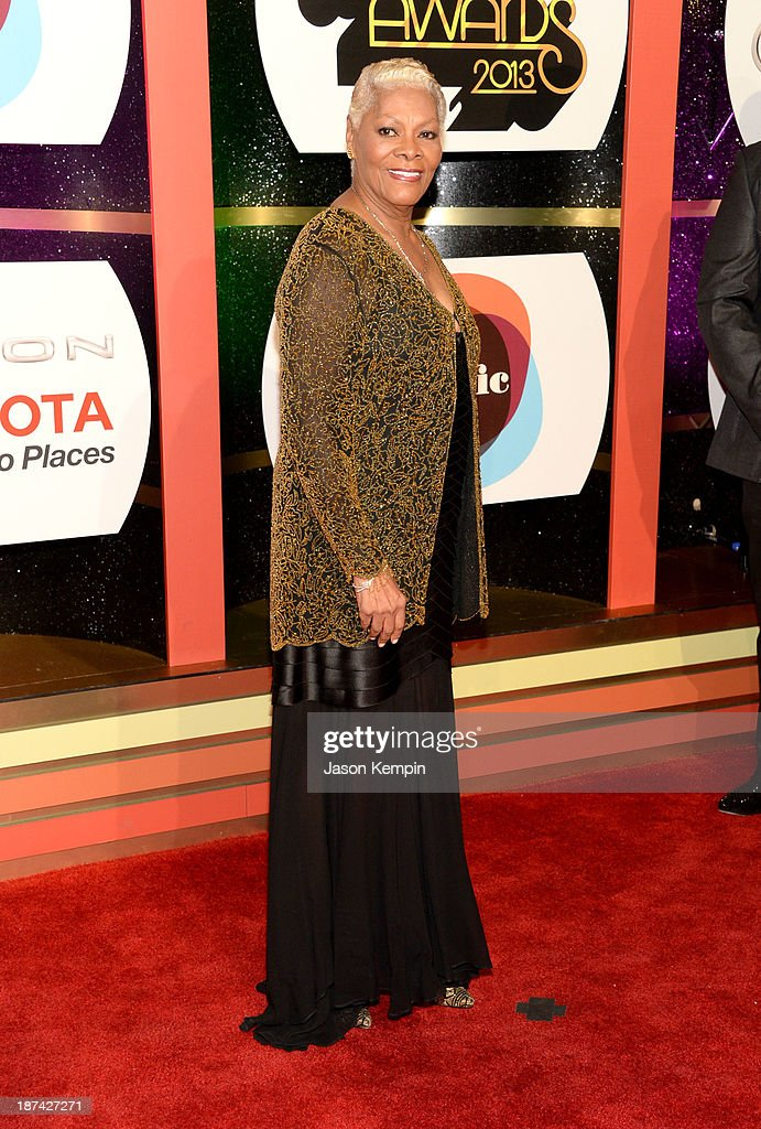 Singer Dionne Warwick attends the Soul Train Awards 2013 at the Orleans Arena on November 8, 2013 in Las Vegas, Nevada.