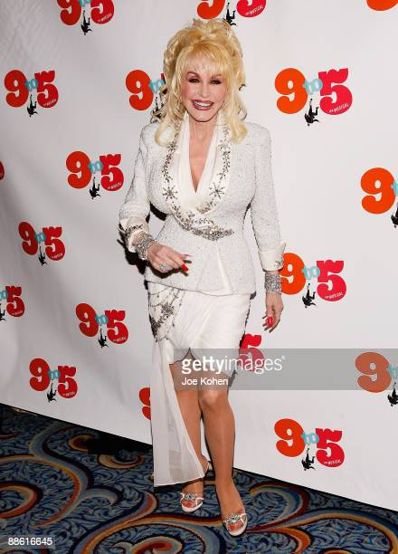 Singer Dolly Parton attends the opening of 9 to 5 The Musical on Broadway at the Marriott Marquis Theatre on April 30 2009 in New York City