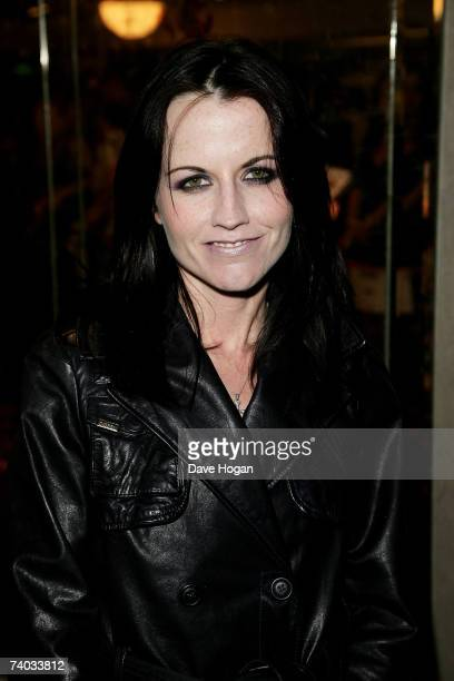 Singer Dolores O'Riordan arrives at the Sony Radio Academy Awards 2007 at Grosvenor House Hotel on April 30, 2007 in London, England. The ceremony...