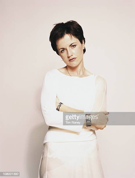 Singer Dolores O'Riordan of The Cranberries, circa 2001.