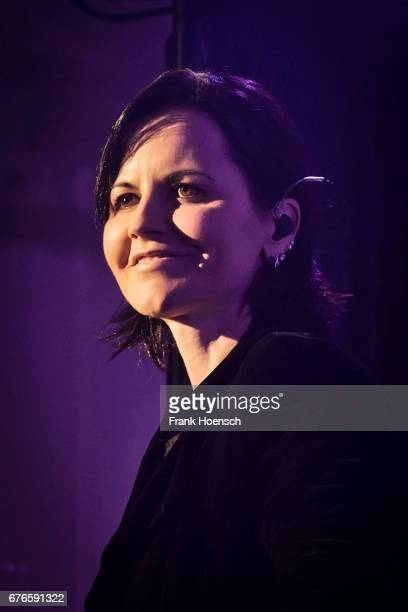 Singer Dolores ORiordan of the Irish band The Cranberries performs live on stage during a concert at the Admiralspalast on May 2 2017 in Berlin...
