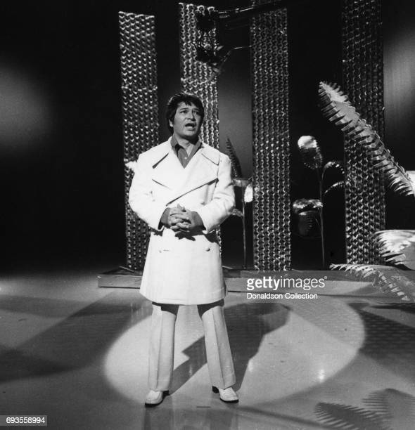 Singer Don Ho performs on 'This Is Tom Jones' TV show in circa 1970 in Los Angeles California