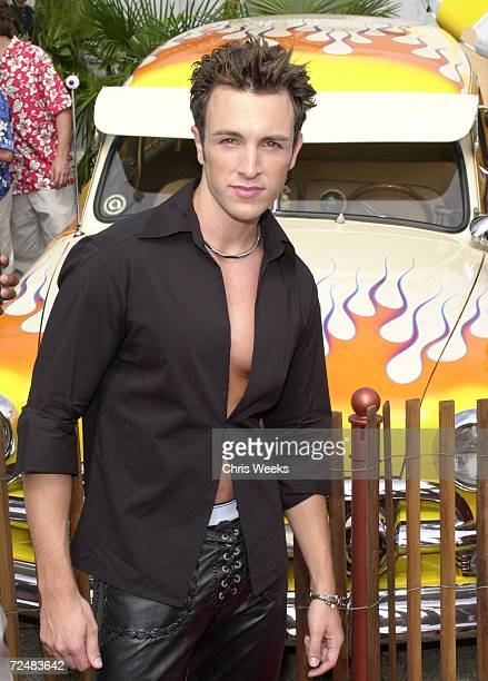 Singer Don Philip attends August 6 at the '2000 Teen Choice Awards' in Santa Monica CA