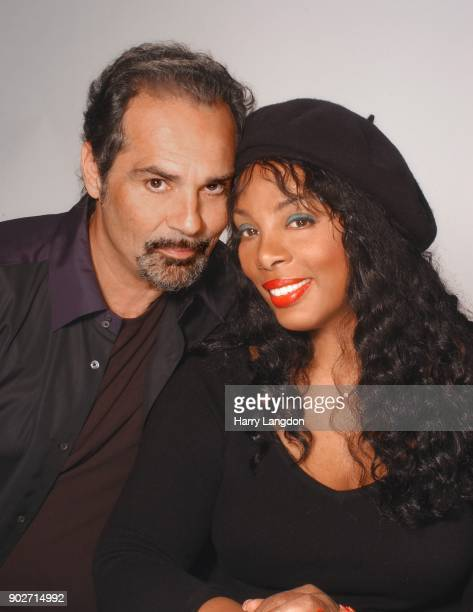 Singer Donna Summer and Bruce Sudano poses for a portrait in 1990 in Los Angeles California
