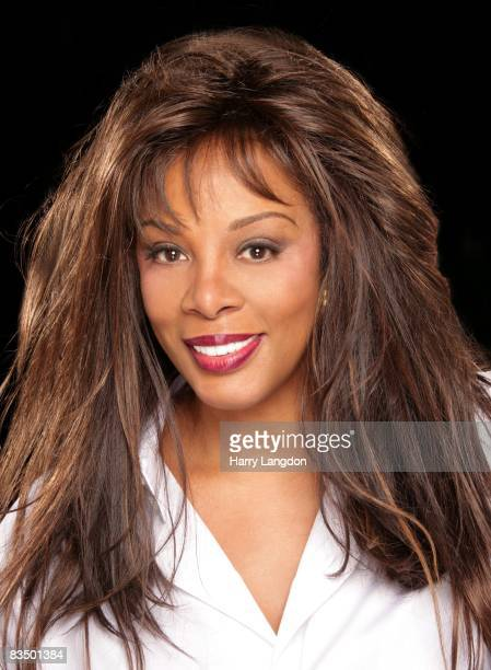 Singer Donna Summer poses for an photo session on December 20 2007 in Los Angeles California