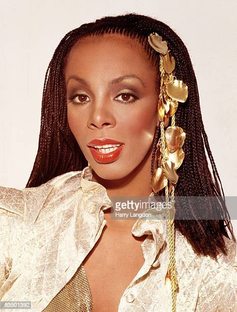 Singer Donna Summer poses for an photo session on May 5 1988 in Los Angeles California