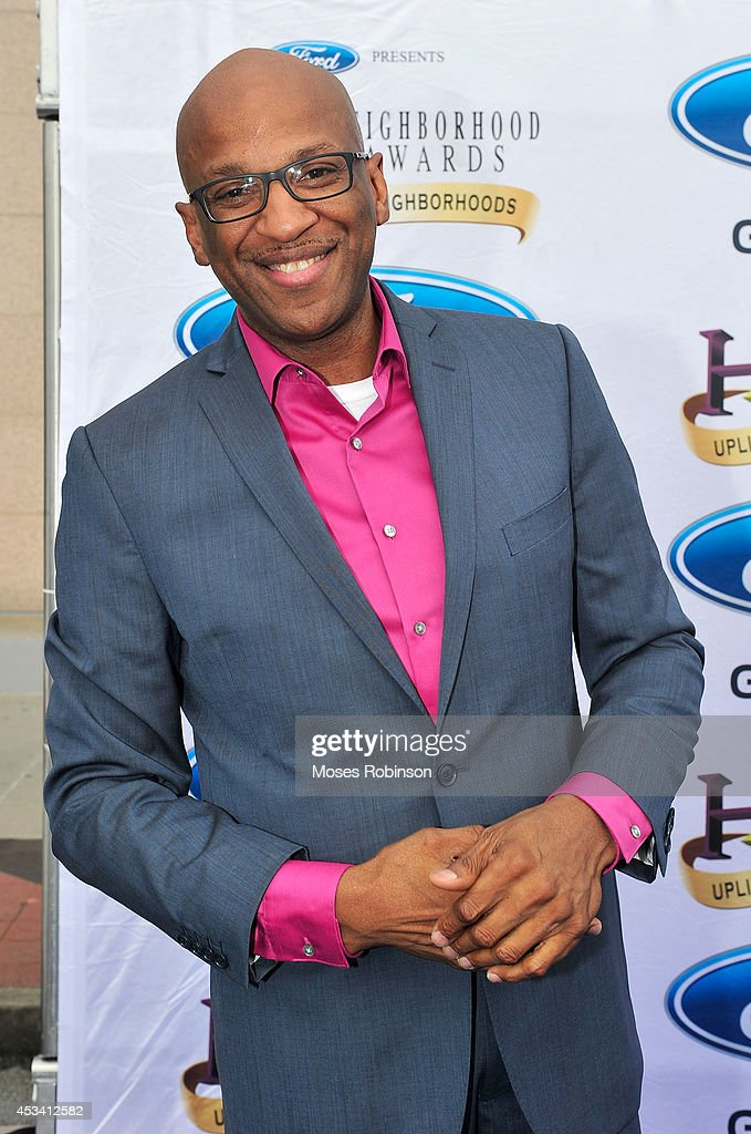 Singer Donnie McClurkin attends the 2014 Ford Neighborhood Awards Hosted By Steve Harvey at the Phillips Arena on August 9, 2014 in Atlanta, Georgia.
