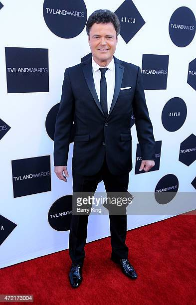 Singer Donny Osmond attends the 2015 TV LAND Awards at Saban Theatre on April 11 2015 in Beverly Hills California