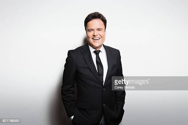 Singer Donny Osmond is photographed for Weekend Magazine on October 2 2014 in Las Vegas Nevada