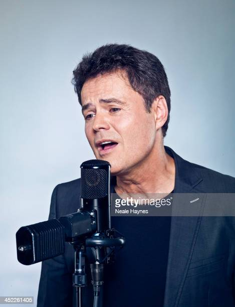 Singer Donny Osmond is photographed on August 18 2012 in London England