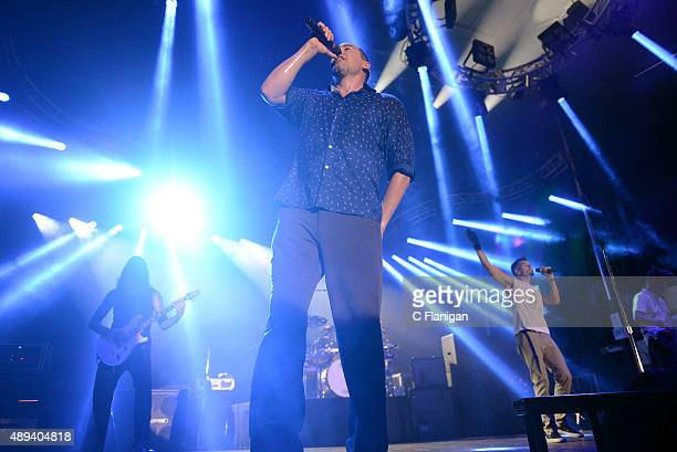 Singer Doug Martinez of 311 performs onstage during 2015 KAABOO Del Mar at the Del Mar Fairgrounds on September 20, 2015 in Del Mar, California.