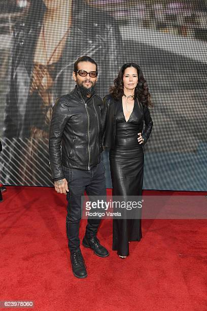 Singer Draco Rosa and Angela Alvarado attend The 17th Annual Latin Grammy Awards at TMobile Arena on November 17 2016 in Las Vegas Nevada