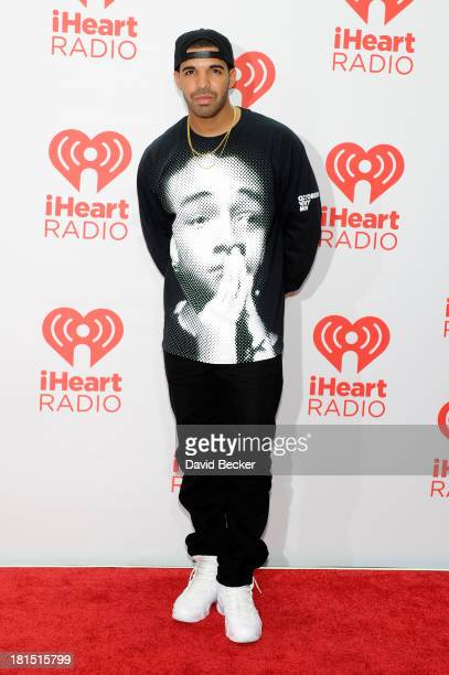 Singer Drake attends the iHeartRadio Music Festival at the MGM Grand Garden Arena on September 21, 2013 in Las Vegas, Nevada.