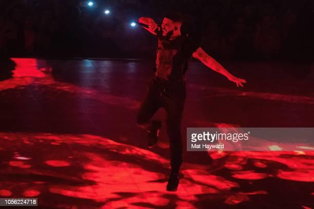 Singer Drake performs on stage at Tacoma Dome on November 1 2018 in Tacoma Washington