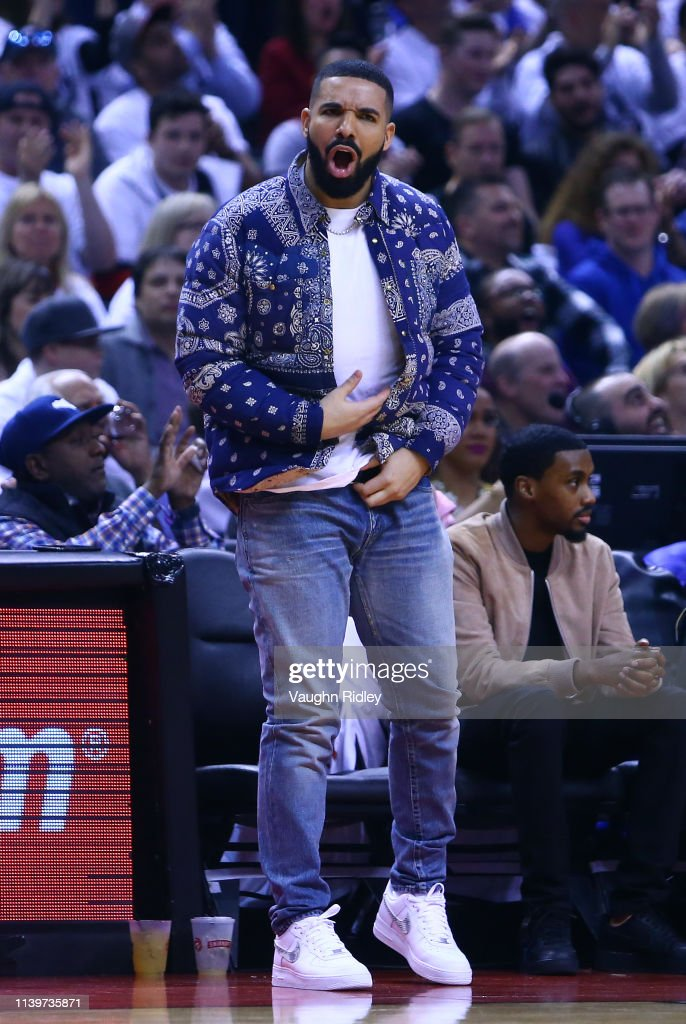 Philadelphia 76ers v Toronto Raptors - Game One : News Photo