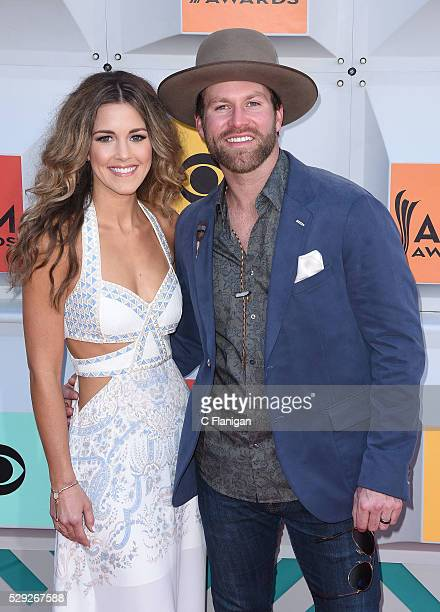 Singer Drake White and Alex White attend the 51st Academy of Country Music Awards at MGM Grand Garden Arena on April 3 2016 in Las Vegas Nevada