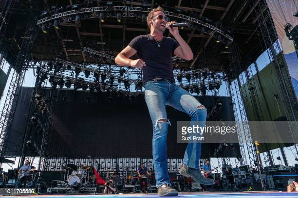 Singer Drew Baldridge performs at Watershed Festival at Gorge Amphitheatre on August 5 2018 in George Washington