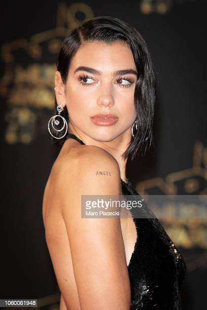Singer Dua Lipa attends the 20th NRJ Music Awards at Palais des Festivals on November 10, 2018 in Cannes, France.
