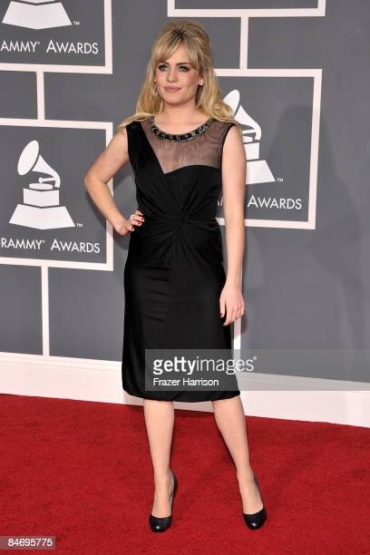 Singer Duffy arrives at the 51st Annual Grammy Awards held at the Staples Center on February 8 2009 in Los Angeles California