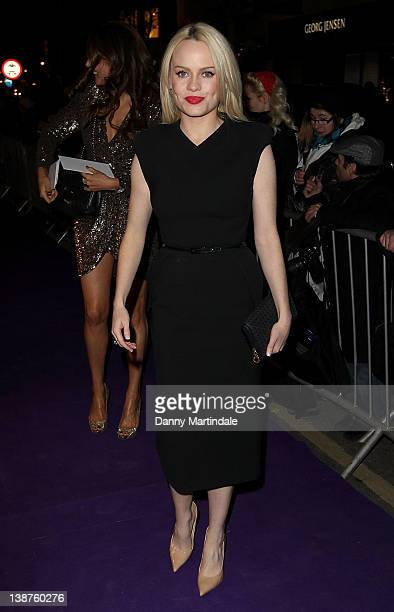 Singer Duffy attends the BAFTA nominees party at Asprey London on February 11 2012 in London England