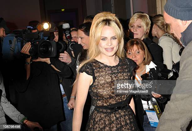 Singer Duffy attends the Focus Night as part of the DLD conference 2011 at Haus der Kunst on January 24 2011 in Munich Germany