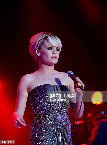 Singer Duffy performs live on day 1 of the North Sea Jazz Festival at Ahoy on July 10, 2009 in Rotterdam, Netherlands.