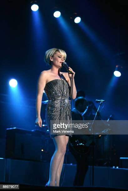 Singer Duffy performs live on day 1 of the North Sea Jazz Festival at Ahoy on July 10 2009 in Rotterdam Netherlands